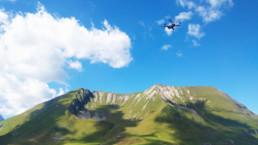 vidéo drone alpcat médias